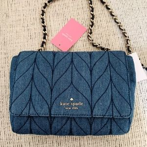 Kate Spade Emelyn Mini Crossbody Denim